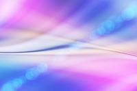 青色とピンク色の光と線 CG