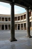 スペイン グラナダ アルハンブラ宮殿 カルロス5世の宮殿 中庭