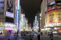東京都 新宿歌舞伎町 夜景