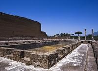 ハドリアヌス別荘 池のある柱廊