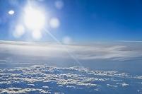 機中より雲(ミュンヘン~成田)LH714