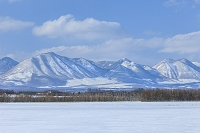 北海道 冬の音更町