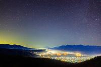 長野県 高ボッチ高原の夜空