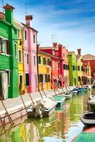 イタリア ブラーノ島 カラフルな家