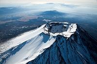 山梨県 富士山 山頂付近