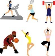 色々なスポーツ イラスト