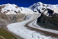 スイス ゴルナー氷河
