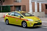 東京 ハイブリッドカーのタクシー