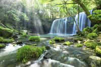 日本 熊本県 鍋ヶ滝