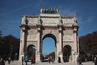 フランス パリ カルーセル凱旋門