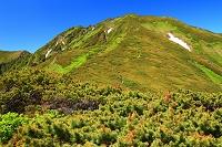 北海道 上川町 北海道 上士幌町 石狩の肩より大雪山の山々