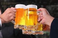 アフターファイブ ビールで乾杯