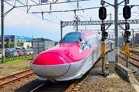秋田県 秋田駅 秋田新幹線スーパーこまち号 E6系車両