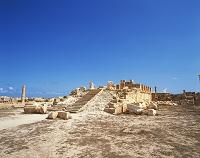 リビア・サブラタ遺跡 アントニヌス神殿