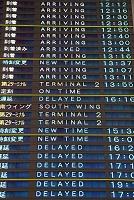 成田空港 到着ゲートの案内