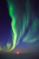 北極圏デッドホースで遭遇したオーロラ