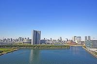 東京都 東雲から見た豊洲方面