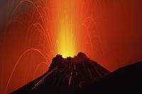 イタリア ストロンボリ火山