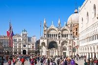 イタリア ヴェネチア サンマルコ広場 小広場