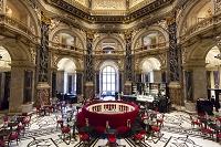 オーストリア ウィーン美術史美術館 館内のカフェ