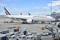 カナダ バンクーバー空港 AIRFRANCE B777-200ER