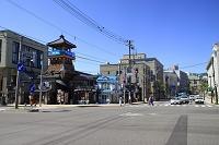 北海道 小樽運河添え色内1丁目交差点
