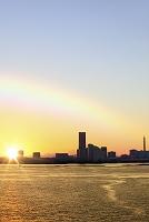 神奈川県 横浜 大黒大橋からみなとみらい
