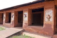 アフリカ ベナン アボメイの王宮