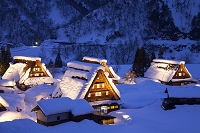 富山県 五箇山の菅沼集落