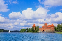 リトアニア トラカイ トゥラカイ城