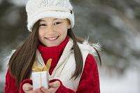 クリスマスプレゼントと少女