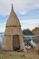 ウロス島 トトラの家