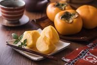 庄内柿(平核無柿・ひらたねなしがき)