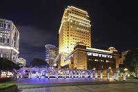 台北信義区の夜景 台北市