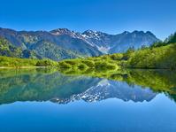 長野県 上高地 新緑の大正池