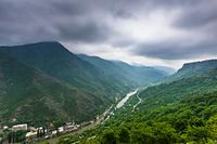 アルメニア ロリ地方 デベデ峡谷