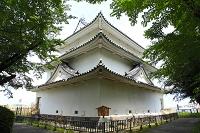 愛知県 名古屋城 裏側から見た西北隅櫓