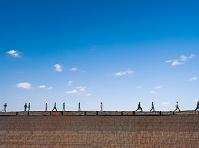土塀と青空
