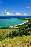 沖縄県 石垣市 石垣島 明石海岸とトムル崎の眺望