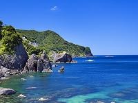 兵庫県 竹野海岸ハサカリ岩