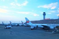 トワイライトの羽田空港
