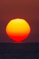 兵庫県 日本海の夕日
