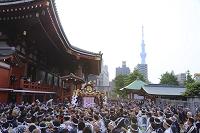 東京都 浅草寺 三社祭と東京スカイツリー