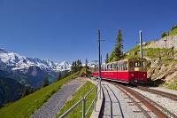 スイス ベルナーオーバーラント地方 シーニゲ・プラッテ登山鉄道