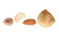 ピスタチオ、カシューナッツ、アーモンド、乾燥イチジク