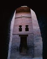 エチオピア ラリベラ 岩窟教会群 ベタ・メドハネ・アレム