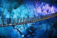 埼玉県 小鹿野町 尾ノ内渓谷の氷柱