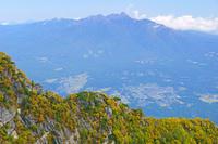 長野県 甲斐駒ヶ岳摩利支天から八ケ岳