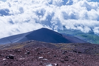 雲海と御殿場ルートの宝永山
