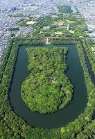 大阪府 堺市 仁徳天皇陵  (百舌鳥、古市古墳群)